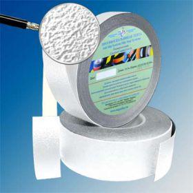 Водоотталкивающая виниловая лента 25мм/18м белая