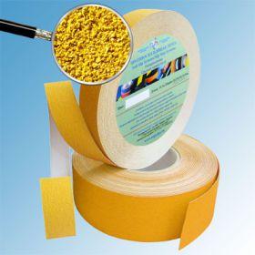 Противоскользящая лента абразивная AntiSlip 60 grit 50мм/18м желтая