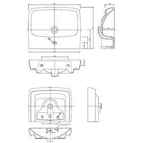 Раковина для инвалидов ИНВ-05ИФ