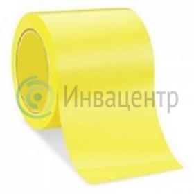 Контрастная сигнальная лента 150мм/33м. Желтая