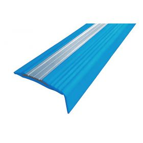 Резиновый накладной угол-порог против скольжения 49/18 мм. 2,7 м.