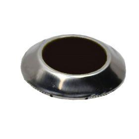 Комбинированный тактильный индикатор КТ 10 Д35 х 5 I-0 (AISI304-PL) 35x25x5мм черный