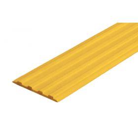 Лента тактильная направляющая ЛТ50 Желтая