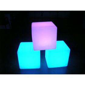 Интерактивный световой Пуф 40x40x40 см