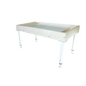 Световой стол для песочной анимации с двумя отсеками 98*54 см