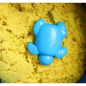 Кинетический космический песок желтый