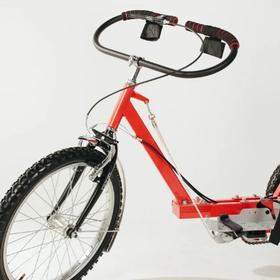 Овальный руль для велолидер