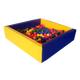 Сухой бассейн квадратный FW-стандарт 150*150*50 см