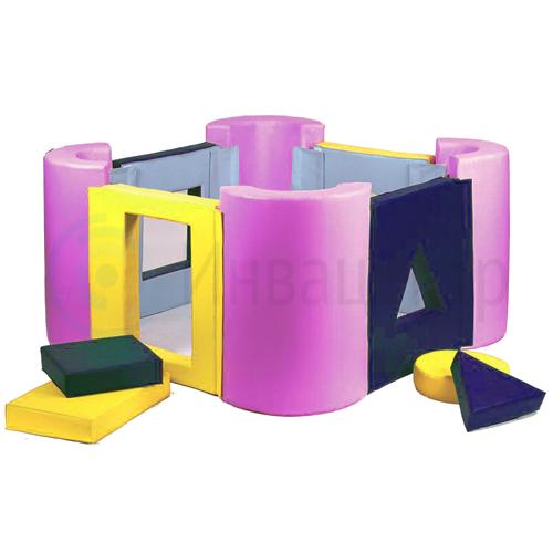 Мягкий модульный конструктор Замок