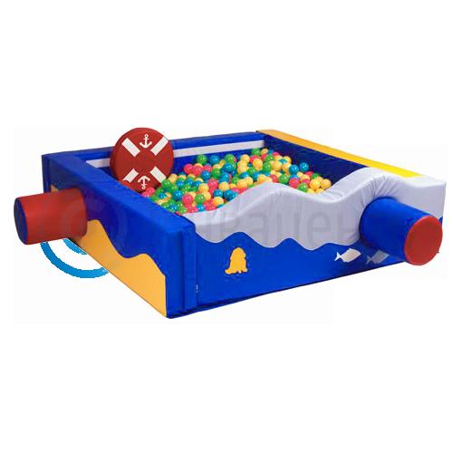 Сухой бассейн квадратный для сенсорной комнаты