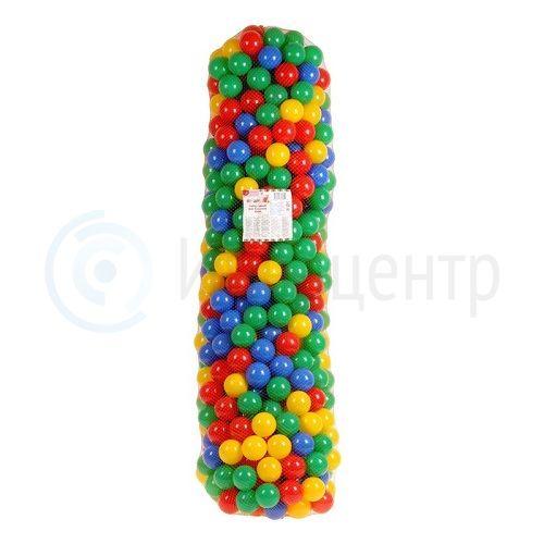 Шарики цветные 7,5 см для сухого бассейна SL 500 шт
