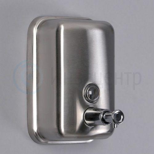 Дозатор для мыла механический SL Практик. 500 мл нерж. сталь
