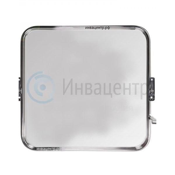 Травмобезопасное поворотное зеркало для МГН ИнваПро 500*500 мм