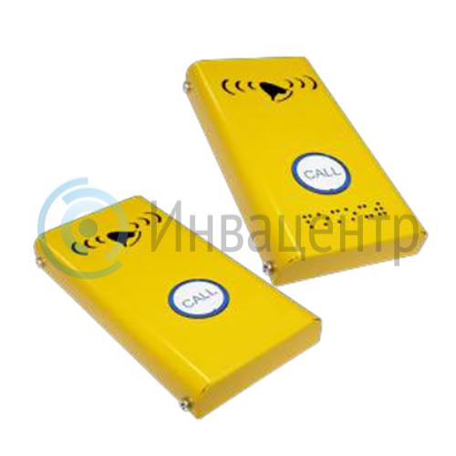 Антивандальная кнопка вызова СТ3  порошковой покраской 180x110x30мм. 10279