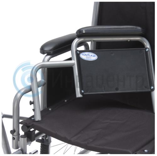 Кресло-коляска с рычажным управлением H005 для правшей