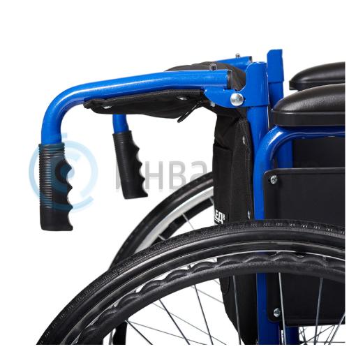 Кресло-коляска для инвалидов H035 (14 дюймов) размер S