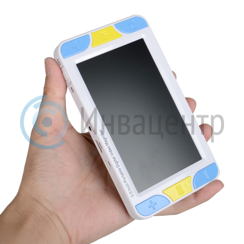 Портативный цифровой увеличитель ПЦУ-2 с экраном 5 дюймов 150х84х30