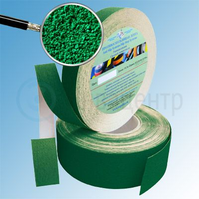 Противоскользящая лента абразивная AntiSlip 60 grit 50мм/18м зеленая