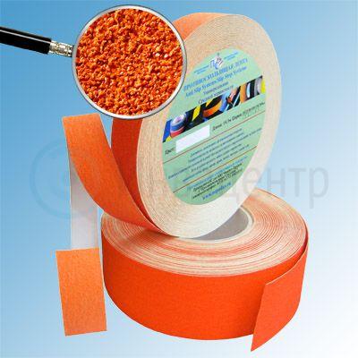 Противоскользящая лента абразивная AntiSlip 60 grit 50мм/18м оранжевая