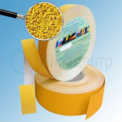 Противоскользящая лента абразивная AntiSlip 60 grit 25мм/18м желтая