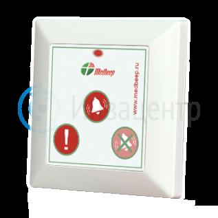 Кнопка вызова персонала Med 53V с кнопкой экстренного вызова