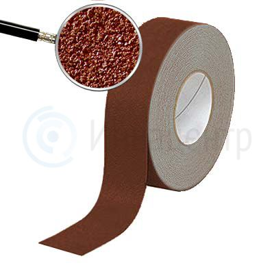 Противоскользящая лента абразивная NoSlip 60 grit 25мм/18м коричневая
