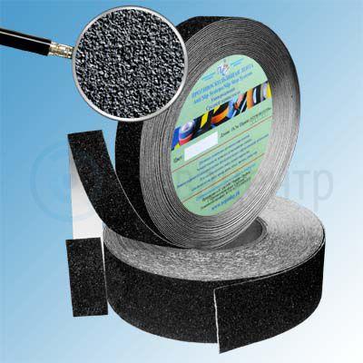Противоскользящая лента абразивная SlipStop 80 grit 50мм/18м черная