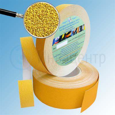 Противоскользящая лента абразивная SlipStop 80 grit 25мм/18м желтая