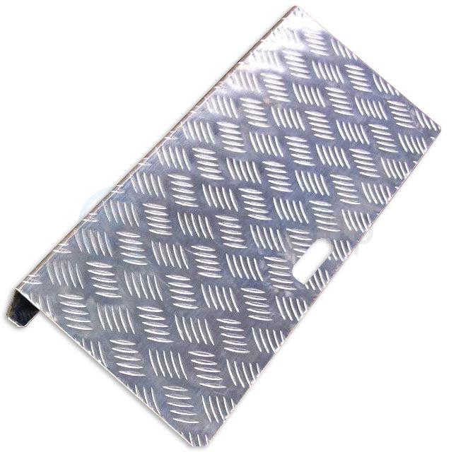 Пандус приставной STR03-10 280x760x50 мм с ручкой для переноски