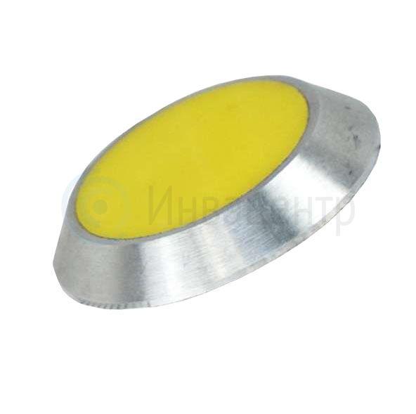 Комбинированный тактильный индикатор КТ Д35 х 5 (AL/PL) I-0 35x35x5 мм