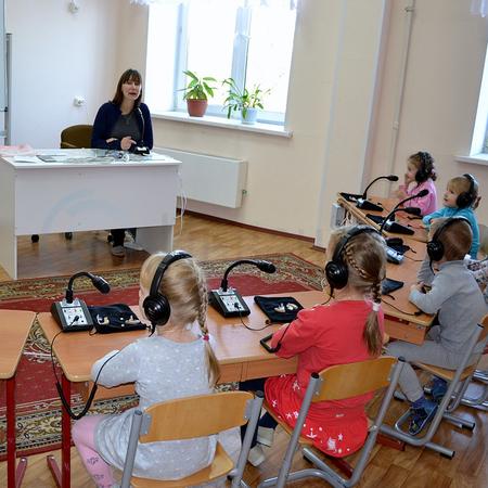 """Аудиокласс проводной слухоречевой на 8 учеников УНИТОН-АК """"ФОРТЕ"""""""