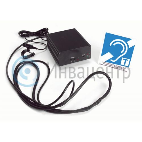 Информационный терминал-медиагид InvaCenter Pro42 дюйма с индукционной петлей, ПО для инвалидов и планшетом для обратной связи