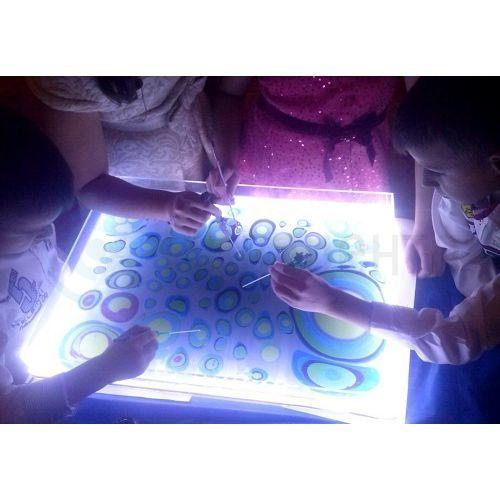 Интерактивный стол для рисования на воде 60х60 см. Luxe