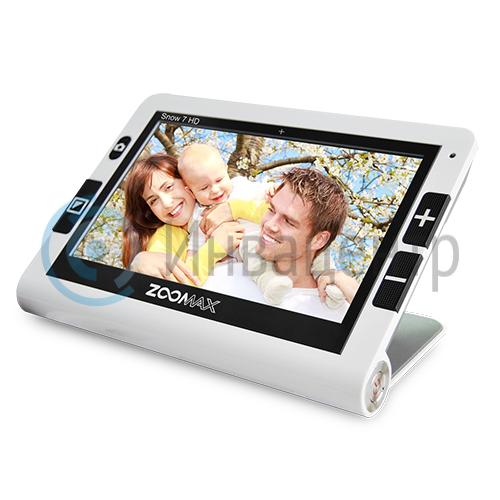 Портативный видеоувеличитель Zoomax Snow 7 HD