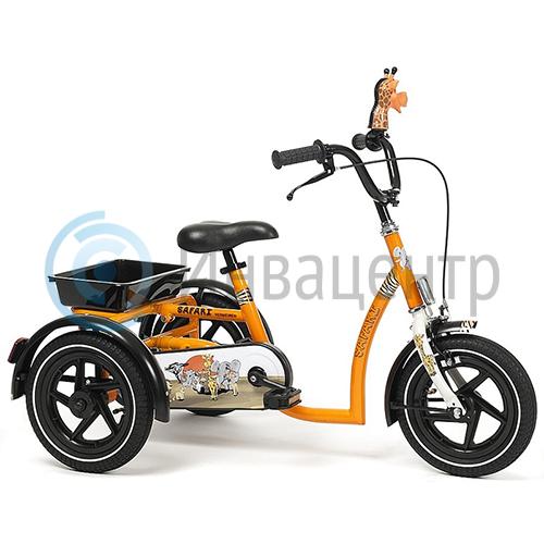 Трехколесный реабилитационный ортопедичечский велосипед для детей с ДЦП Vermeiren Safari