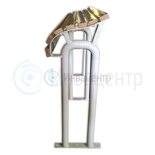 Скамейка для инвалидов 1200*793*288 мм. Пластиковые рейки