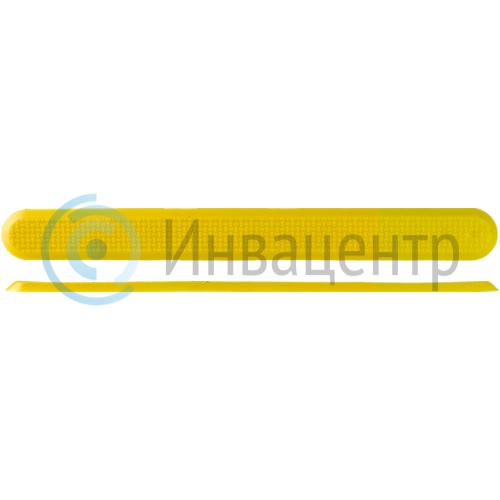 Тактильный индикатор 290x30 полоса ПВХ
