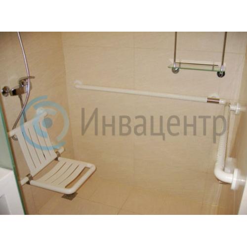 Угловой поручень для санитарно-гигиенических комнат 8809