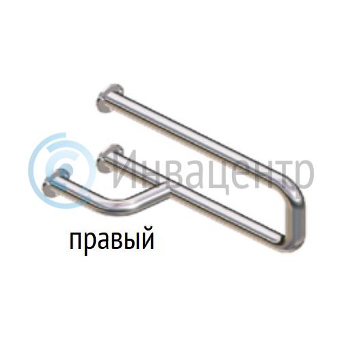 Поручень для раковины настенный боковой ПРНБ 580 мм Правый