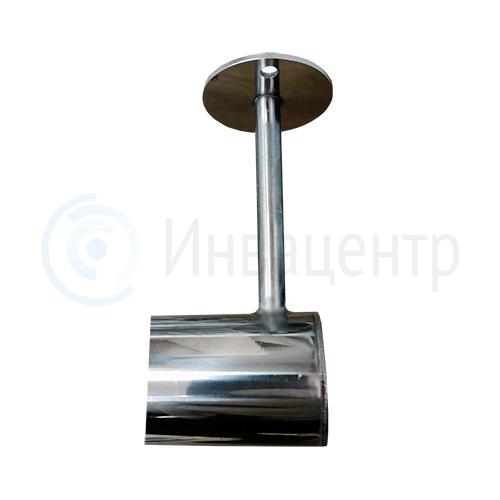 Штанга подвесная с рукояткой для МГН, нерж сталь L-1400 мм. Потолочная