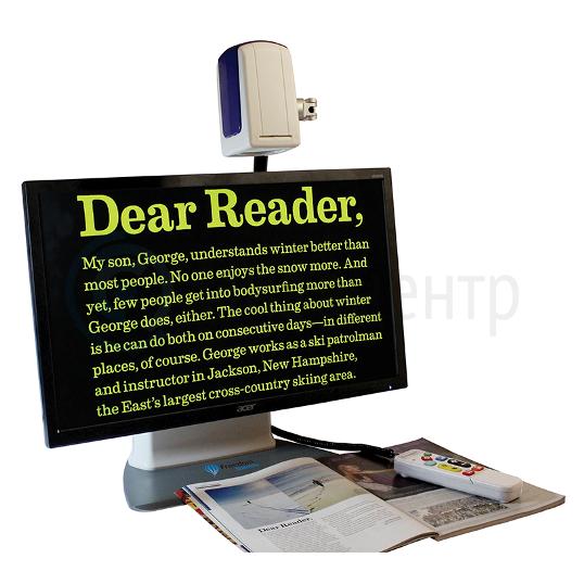 Универсальный электронный видеоувеличитель ONYX DeskSet HD