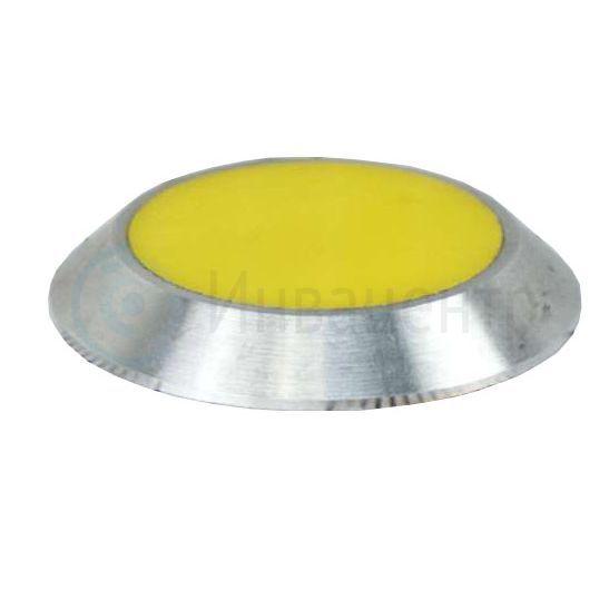 Комбинированный тактильный индикатор D34х4 I-0 (AL,PL) желтый