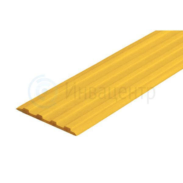 Лента тактильная направляющая ЛТ85 Желтая