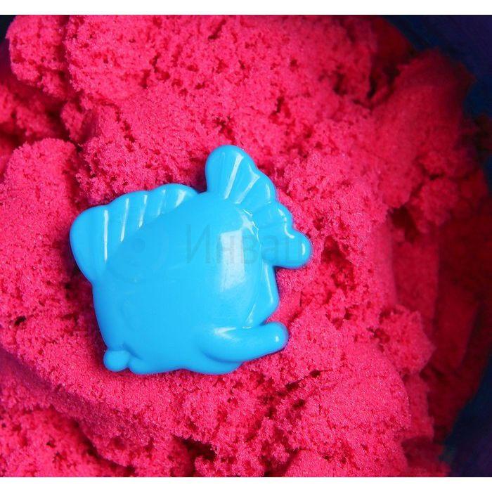 Кинетический космический песок розовый