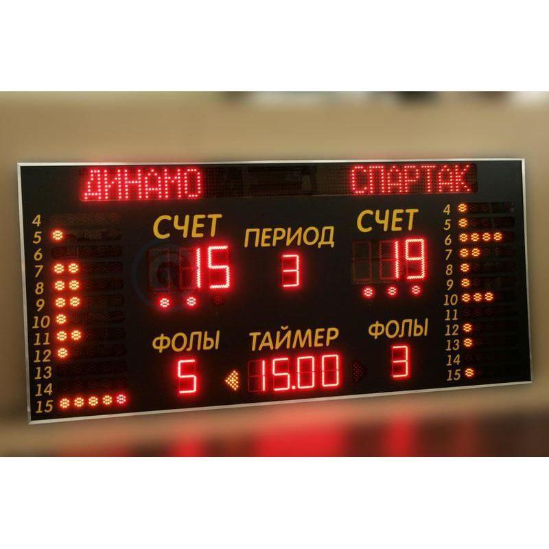 Спортивное табло для соревнований