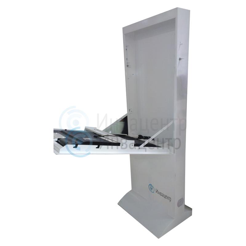 Сенсорный киоск-медиагид Invacenter Pro55 дюймов с ПО для инвалидов, индукционной системой и планшетом для обратной связи