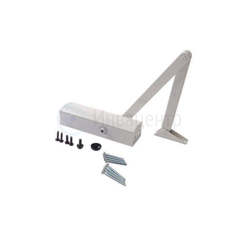 Доводчик для металлических дверей InvaD-15TSW белый