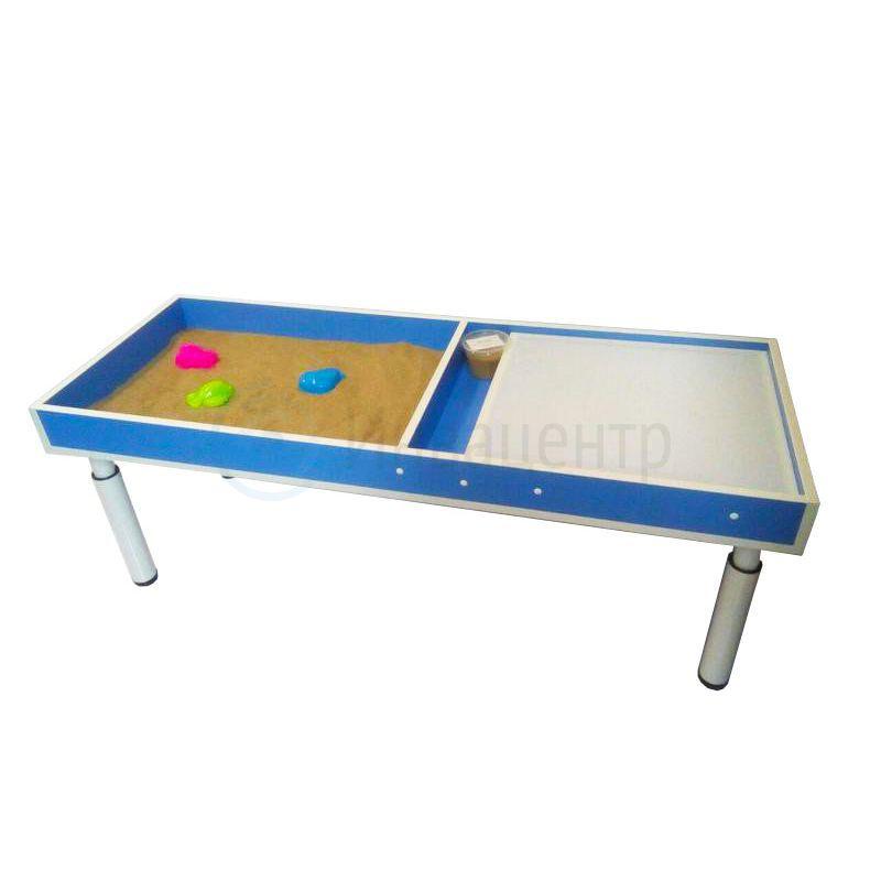 Световой стол 2 в 1 для рисования песком 140x50x13 см