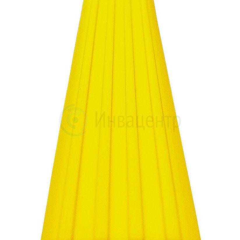 Лента тактильная направляющая ЛТ80 Желтая