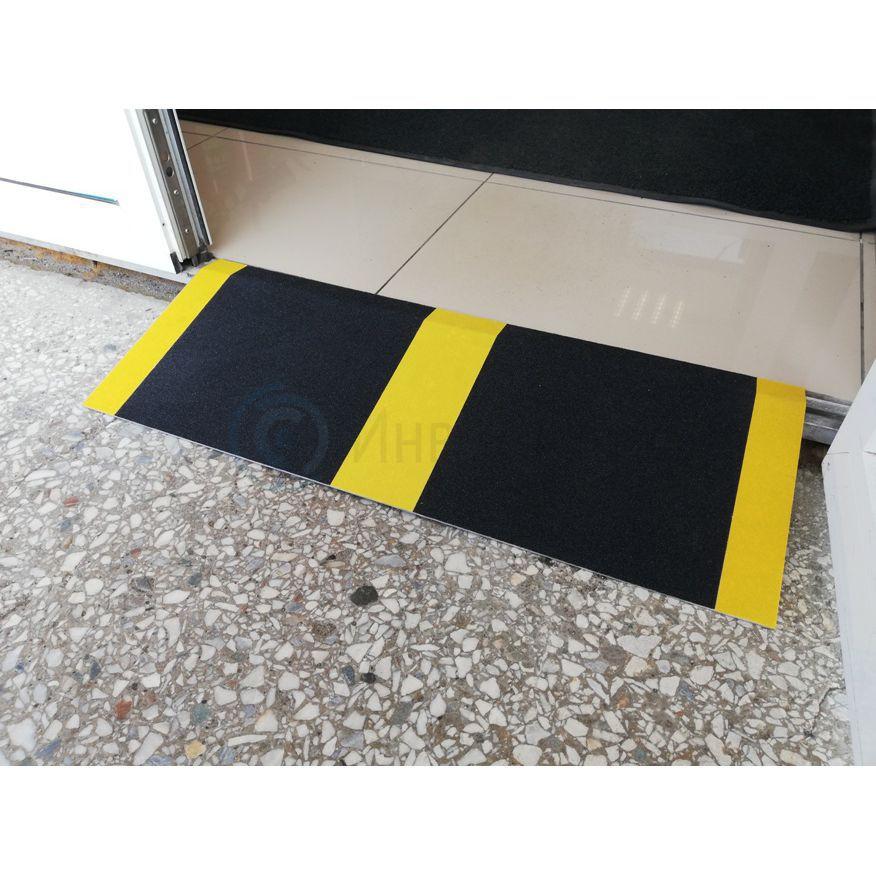 Пандус приставной с противоскользящим покрытием STR018-18 45x80 см